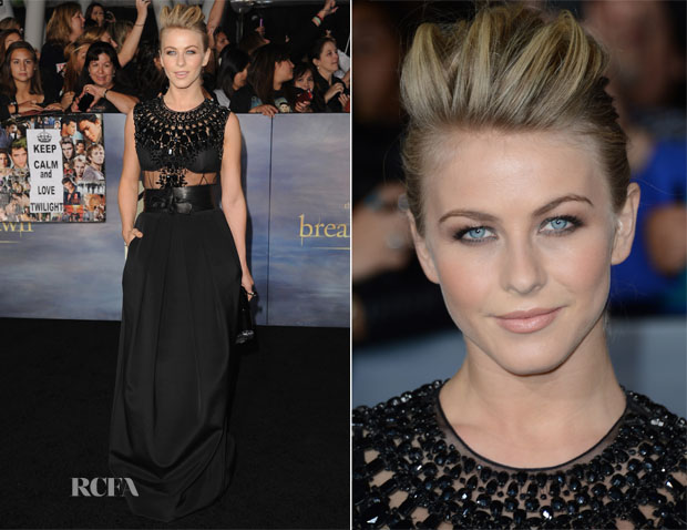 Julianne Hough In Kaufmanfranco - 'The Twilight Saga Breaking Dawn – Part 2' Premiere