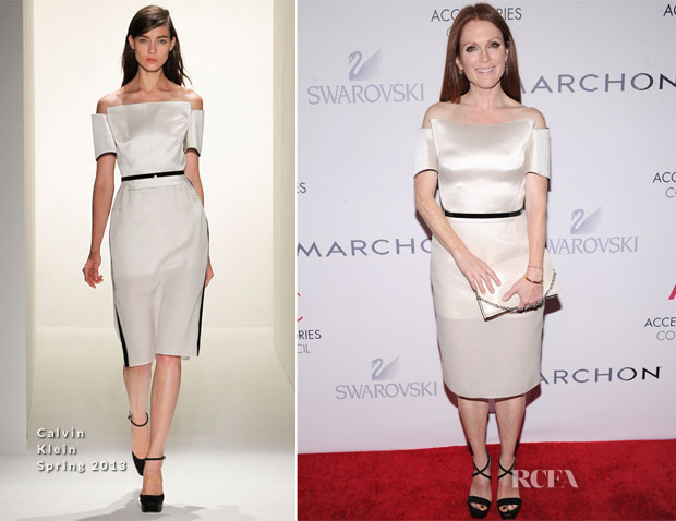Julianne Moore In Calvin Klein -  16th Annual ACE Awards