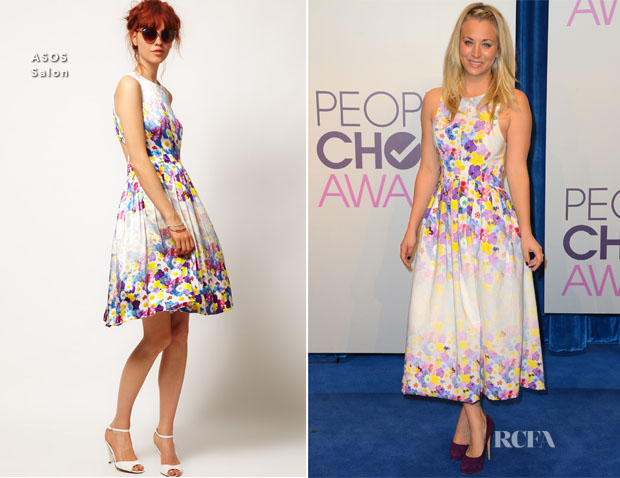 Kaley Cuoco In ASOS - People's Choice Awards 2013 Nominations Press Conference