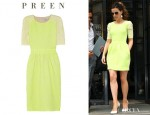 Kate Beckinsale's Preen Sara Dress