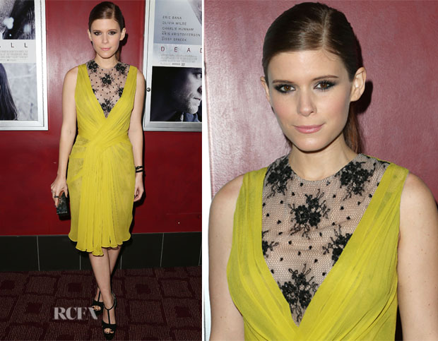 Kate Mara In Jason Wu - 'Deadfall' LA Premiere