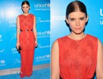 Kate Mara In Jason Wu - UNICEF Snowflake Ball