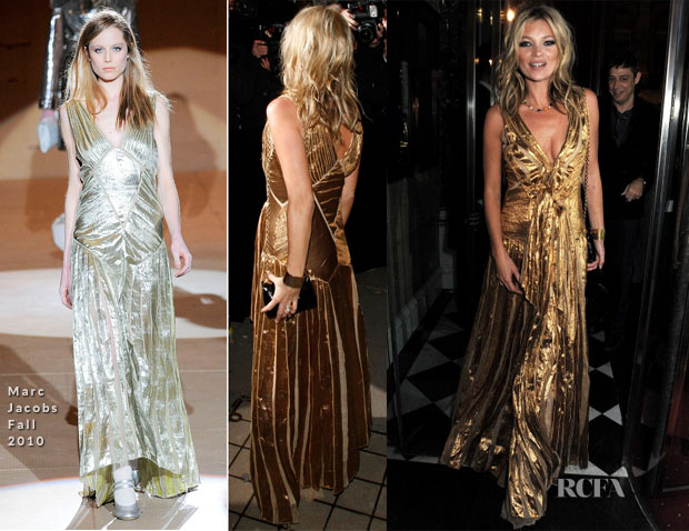 Kate Moss In Marc Jacobs - 'Kate The Kate Moss Book' Launch Party