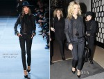 Kate Moss In Saint Laurent - Colette Book Signing