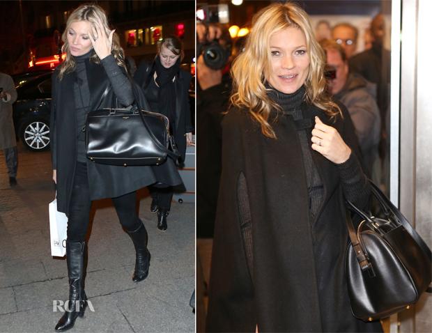 yves saint laurent backpacks - Kate Moss Rocks The New Saint Laurent Classic Duffle \u0026#39;24\u0026#39; Bag ...