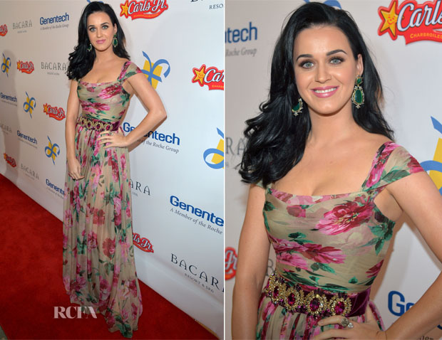 Katy Perry In Dolce & Gabbana - Dream Foundation's 11th Annual Celebration of Dreams