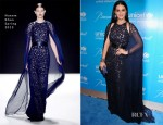 Katy Perry In Naeem Khan - UNICEF Snowflake Ball