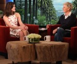Keira Knightley In Carven - The Ellen DeGeneres Show