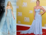 Kellie Pickler In Pamella Roland - 2012 CMA Awards