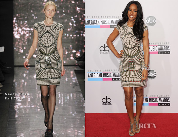 Kelly Rowland In Naeem Khan - 2012 American Music Awards