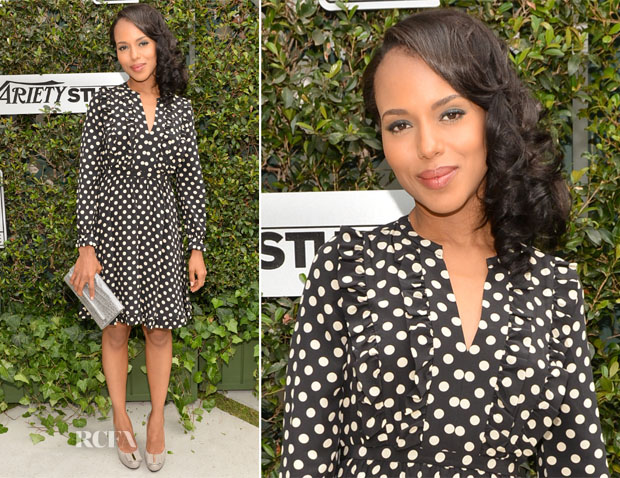 Kerry Washington In Kate Spade New York - The Variety Studio Awards Edition Event