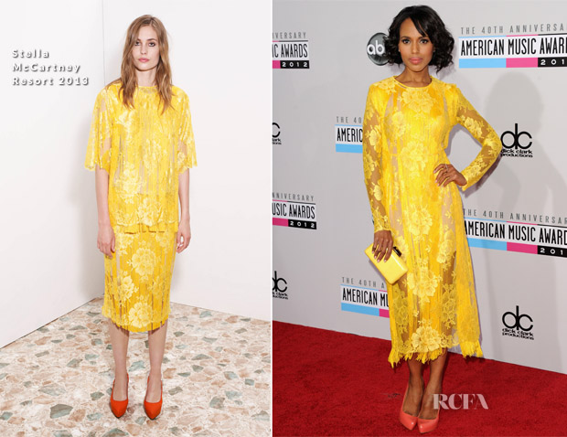 Kerry Washington In Stella McCartney -  2012 American Music Awards
