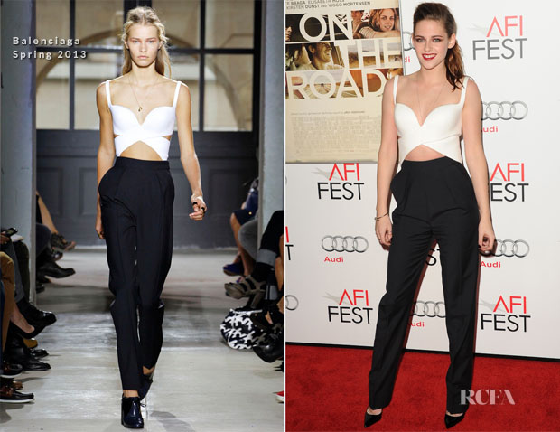 Kristen Stewart In Balenciaga - 'On The Road' AFI Fest Gala Screening