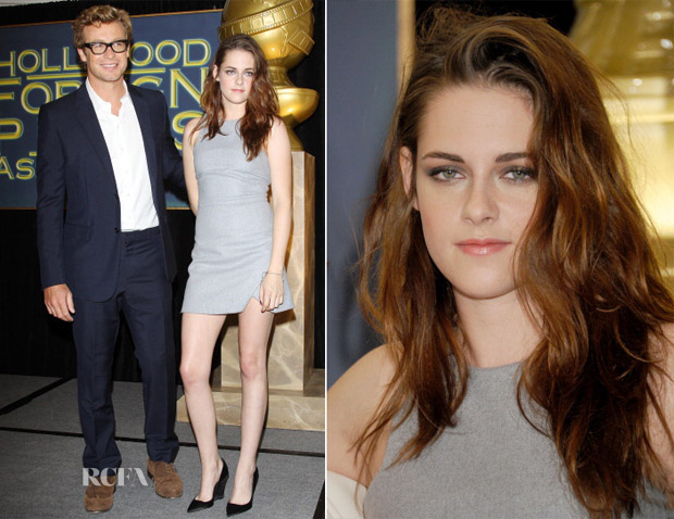 Kristen Stewart In Bec & Bridge - Cecil B DeMille Award Recipient Announcement