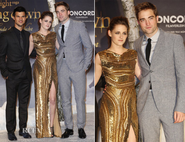 Kristen Stewart In Elie Saab - 'Twilight Saga Breaking Dawn - Part 2' Berlin Premiere