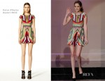 Kristen Stewart In Peter Pilotto - The Tonight Show With Jay Leno