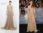 Kristen Stewart In Zuhair Murad - 'The Twilight Saga: Breaking Dawn - Part 2' LA Premiere