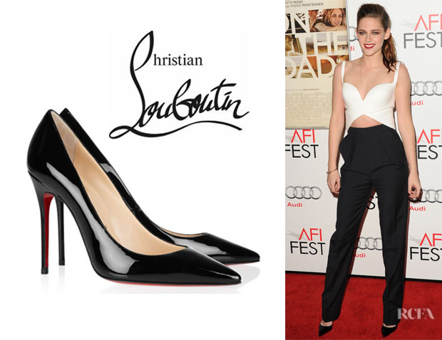 Kristen Stewart's Christian Louboutin Decollete Pumps