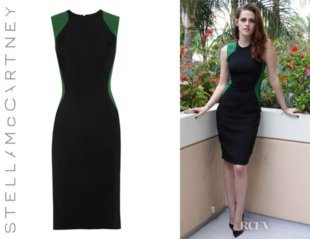 Kristen Stewart's Stella McCartney 'Miracle' Bi-Colour Dress
