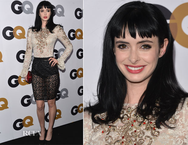 Krysten Ritter In Dolce & Gabbana - GQ Men of the Year Party