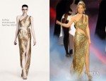 Kylie Minogue In Julien Macdonald - 2012 Royal Variety Performance