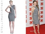 Kylie Minogue's Stella McCartney Contoured Gingham Dress