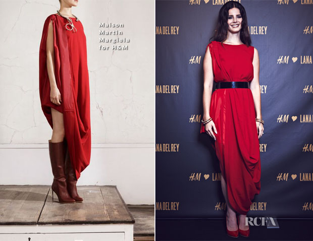 Lana Del Ray In Maison Martin Margiela for H&M - H&M Berlin Private Concert