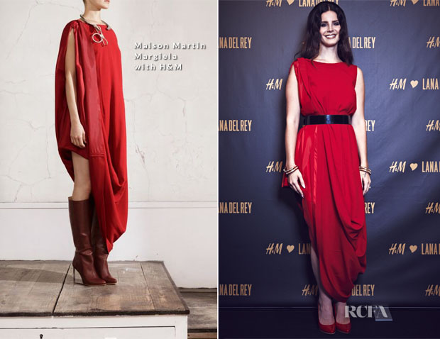Lana-Del-Ray-In-Maison-Martin-Margiela-with-HM-HM-Berlin-Private-Concert