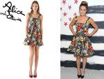 Lauren Conrad's Alice + Olivia Tora Pleated Shift Dress