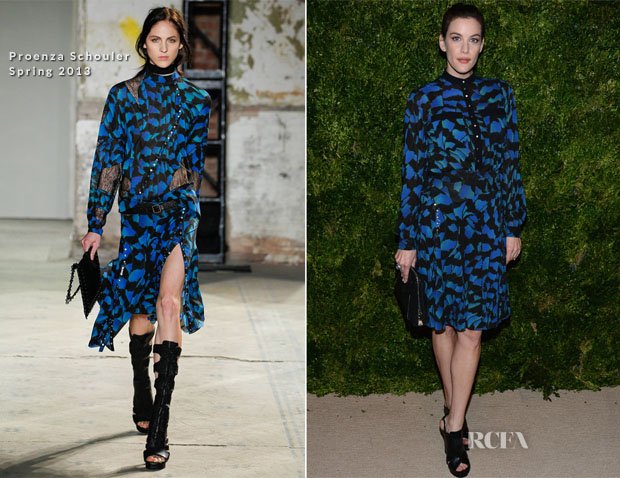 Liv Tyler In Proenza Schouler - 2012 CFDAVogue Fashion Fund Awards copy
