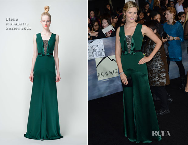 Maggie Grace In Bibhu Mohapatra - 'The Twilight Saga Breaking Dawn – Part 2' Premiere