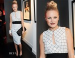 Malin Akerman In Sportmax - Tasya Van Ree 'Replica' Exhibition