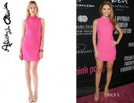 Maria Menounos' Alice + Olivia Darcey Dress