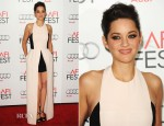 Marion Cotillard In Christian Dior - 'Rust and Bone'  AFI Fest Premiere