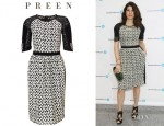 Marisa Tomei's Preen Daisy Embroidered Dress