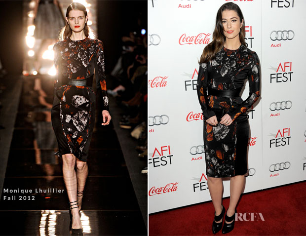 Mary Elizabeth Winstead In Monique Lhuillier - 'Life Of Pi' AFI Fest Premiere