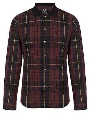 McQ Alexander McQueen Tartan Shirt   Harrods