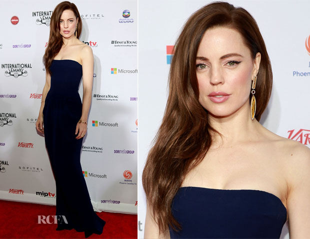Melissa George In Giorgio Armani - 40th International Emmy Awards