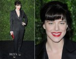 Michelle Ryan In YSL - London Evening Standard Theatre Awards