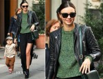 Miranda Kerr In Balenciaga & Acne - Out In New York City