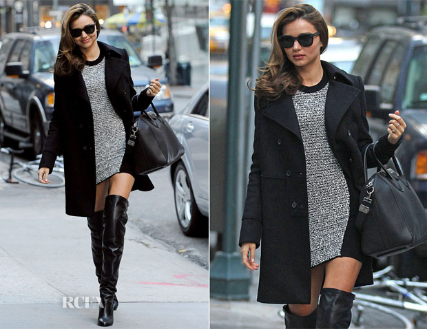 Miranda Kerr In Alexander Wang - Out In New York City