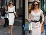 Miranda Kerr In Victoria Beckham - Out In New York City