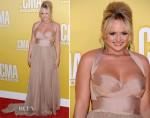 Miranda Lambert In Maria Lucia Hohan - 2012 CMA Awards