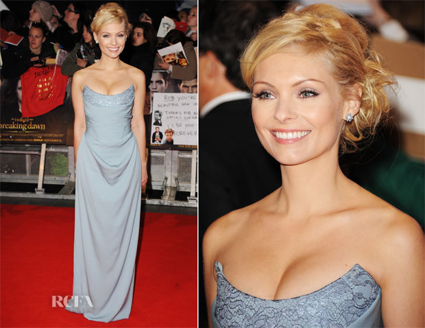 MyAnna Buring In Vivienne Westwood - 'The Twilight Saga Breaking Dawn – Part 2' London Premiere