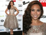 Myleene Klass In Jacques Azagury - 2012 Drapers Awards