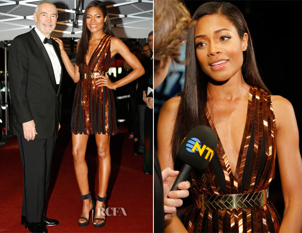 Naomie Harris In Nicholas Oakwell Couture - 'Skyfall' Istanbul Premiere