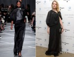 Natalia Vodianova In Givenchy - The PeaceEarth Foundation: Fundraising Gala