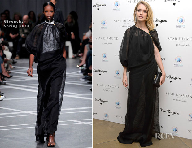 Natalia Vodianova In Givenchy - The PeaceEarth Foundation Fundraising Gala
