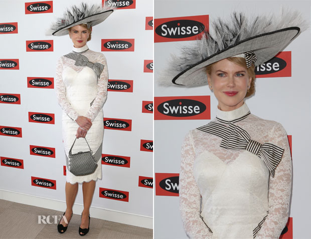 Nicole Kidman In L'Wren Scott - Derby Day
