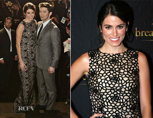 Nikki Reed In Oscar de la Renta - 'Twilight Saga Breaking Dawn – Part 2′ Copenhagen Premiere
